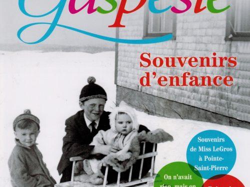 Page couverture du numéro 187 du Magazine Gaspésie, novembre 2016-février 2017