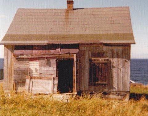 Maison des Béland, vers 1977, photo : Edelbert Blanchette, coll.: Gilles Boucher