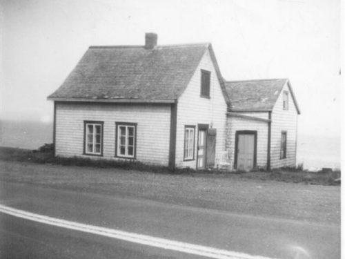 Maison Euloge Pelchat, vers 1955-1964, coll: Réal Pelchat