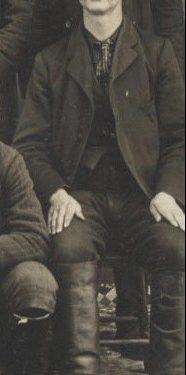 Napoléon Fournier, 4e maitre de poste, photo vers 1900, coll.: Mario Lévesque
