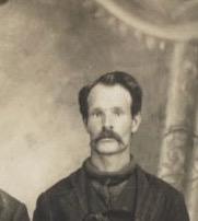 Napoléon Fournier, 4e maitre de poste, photo tirée d'une carte postale des frères Fournier, date: vers 1910, coll.: Mario Lévesque ; coll.: Marguerite Boucher