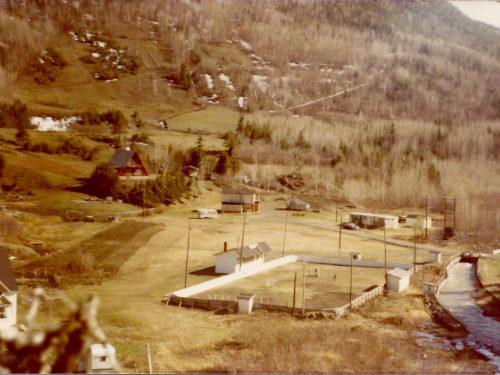 Centre sportif au printemps, date: années 1970, coll.: Jean Pelchat