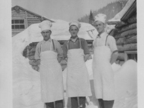 Syndicat de la Madeleine, A. Bond, J.-P. Campion, E. Gaumond, date: 194-?, coll.: Thérèse Bond