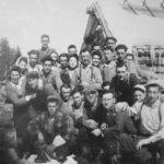 Visite au chantier, date: 1947, source inconnue